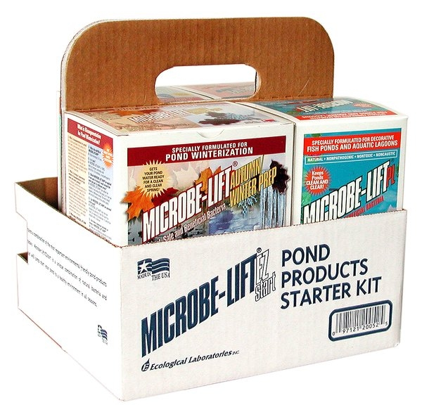 Microbe Lift Easy Start Pond Kit Seasonal