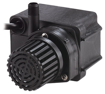 Little giant pe 2f pw 300 gph pump pond for Pond pump installation