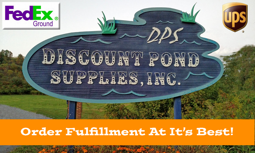 Wholesale pond supplies for Discount pond supplies