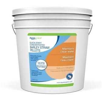 Quick Start Concentrated Barley Straw Pellets - 5 lbs   Barley Products
