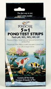 API Pond Care Dip Strips Test 5-in-1 | Test Kits