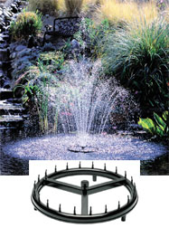 Cal Pump Ring Jet Spray   Fountain Heads & Accessories