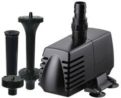 Hampton Water Gardens Utility Pump/Fountain Head Kits 500 and 590 GPH | Pondmaster Eco/Hampton Water Gardens