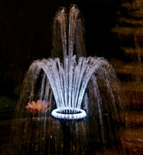 Pondmaster 24-LED Light Ring with Fountain Head | Fountain Heads & Accessories