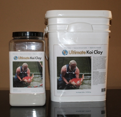 Ultimate Koi Clay 5lbs & 20lbs | Ultimate Koi Clay