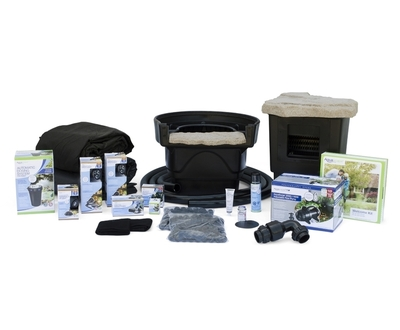 Medium Pond Kit 11' x 16' with AquaSurgePRO 2000-4000 Pump   Pond Kits