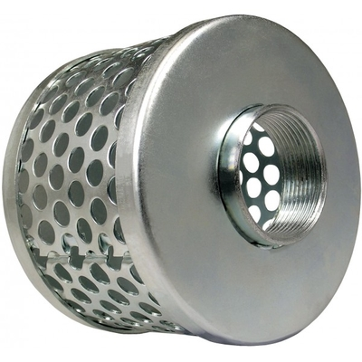 ROUND HOLE STEEL STRAINER | Green Leaf