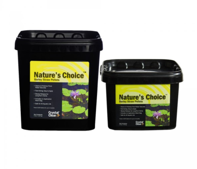 Crystal Clear Nature's Choice Barley Straw Pellets | Barley Products