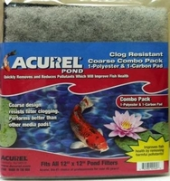 Image Acurel Pond Coarse Poly and Carbon Pads