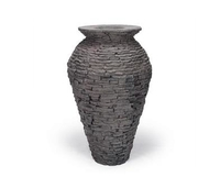 Image 78207 Stacked Slate Urn - Medium