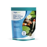 Image Aquascape Premium Staple Fish Food Medium Pellets - 2.2 lbs