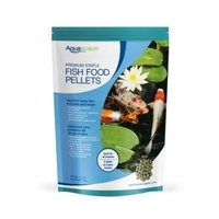 Image Aquascape Premium Staple Fish Food Large Pellets 4.4 lbs