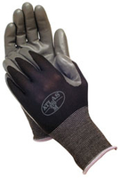 Image Black Nitrile Touch Gloves
