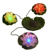 Image Solar Lily Lights