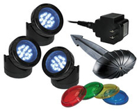 Image Alpine Luminosity 12-LED Bright White Light Set of 3