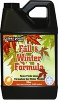 Image Clear Pond Fall and Winter Formula