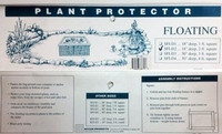 Image Nycon Floating Square Plant Protector