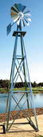 Image Outdoor Water Solutions 9 Ft Backyard Windmill