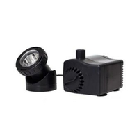 Image 130-185 gph Fountain Pump with LED Light