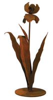 Image Garden Sculpture: Small Iris