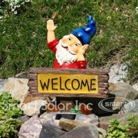 Image Solar Welcome Gnome