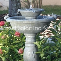 Image Gray Weathered Stone Country Gardens Fountain