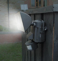 Image Solar Motion-Activated Security Light