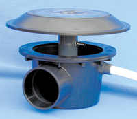 Image Aerating Sump Bottom Drain 4 Inch