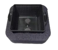 Image Float for Square Plant Baskets