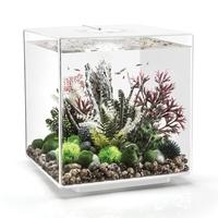 Image biOrb CUBE 60 Aquarium with MCR - 16 gallon White 54536