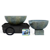 Image Spillway Bowl and Basin Landscape Fountain Kit