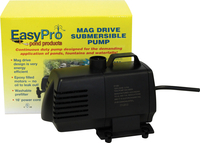 Image EP1050 1050 GPH Submersible Mag Drive with Volcano Waterbell and Double Volcano