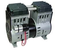 Image ERP75 Stratus ERP Series Dual Rocking Piston Compressor 3/4hp