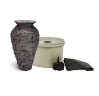 Image Stacked Slate Urn - Small Kit