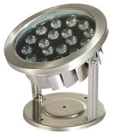 Image LED18WW 18 Watt Stainless Steel Underwater LED Light