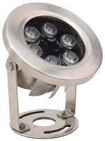 Image LED9WW 9 Watt Stainless Steel Underwater LED Light