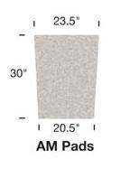 Image AMM Replacement Filter Pad – Medium Aquafalls