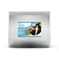 Image Premium Staple Fish Food Pellets - 11 lbs / 5 kg